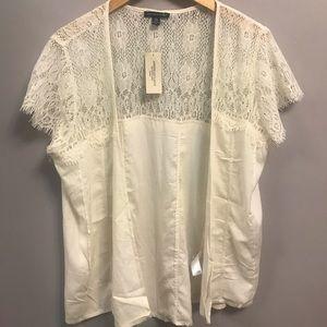 2 for $20   AEO   Lace short kimono blouse